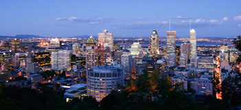 Image of Montreal Skyline